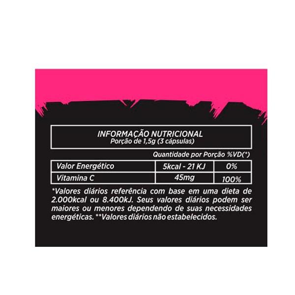 Colágeno Hidrolizado com Vitamina C - 60 cápsulas BODYLIFE