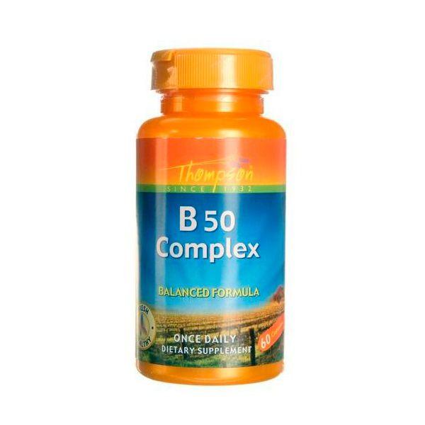 Complexo B50 - Importado Eua  - Super Concentrado. 20 x mais forte.