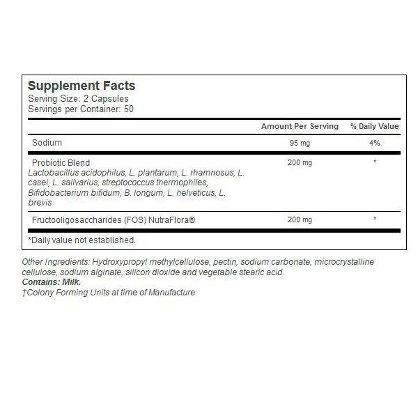 Complexo Probiotico ( 10-20 10 Estirpes )  - 100 cápsulas