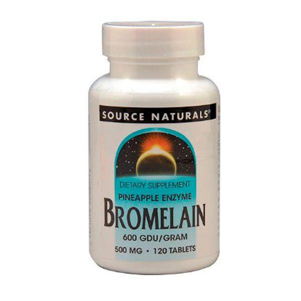 Enzima de Bromelina 500mg -  120 tabetes