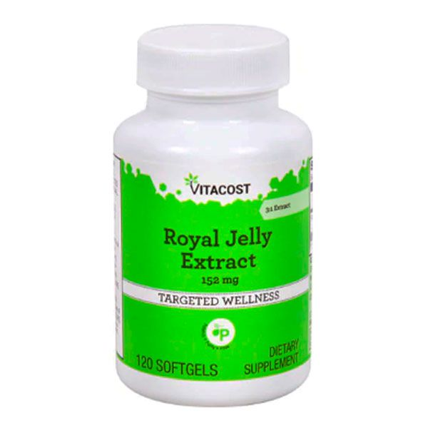 Extrato De Geleia Real 152 Mg 120 Softgels