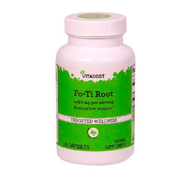 Fo-ti Root 1.220mg  - 100  cápsulas foti