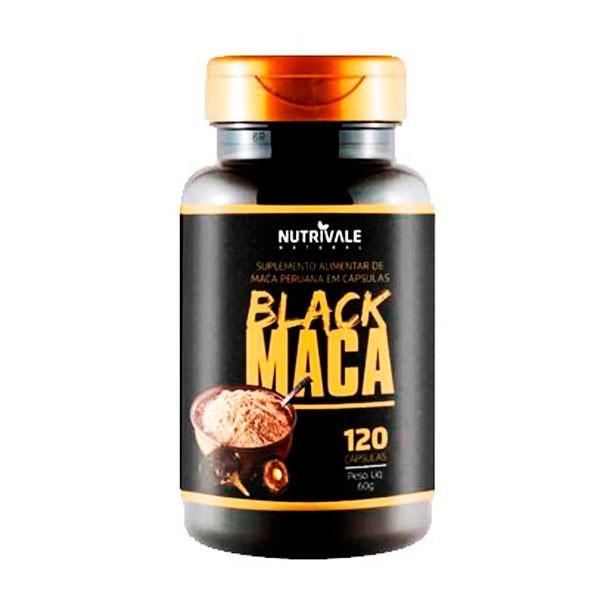 Maca Peruana Black 120 caps -   Nutrivale Natural