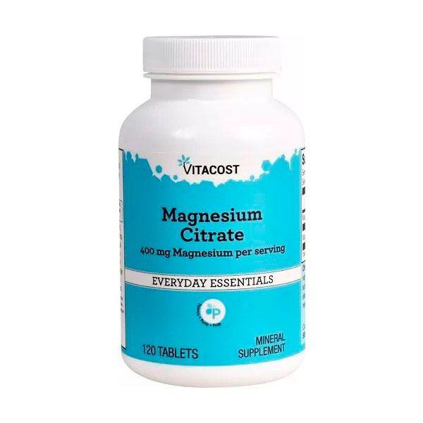 Magnésio Citrate  400mg - 120 Caps