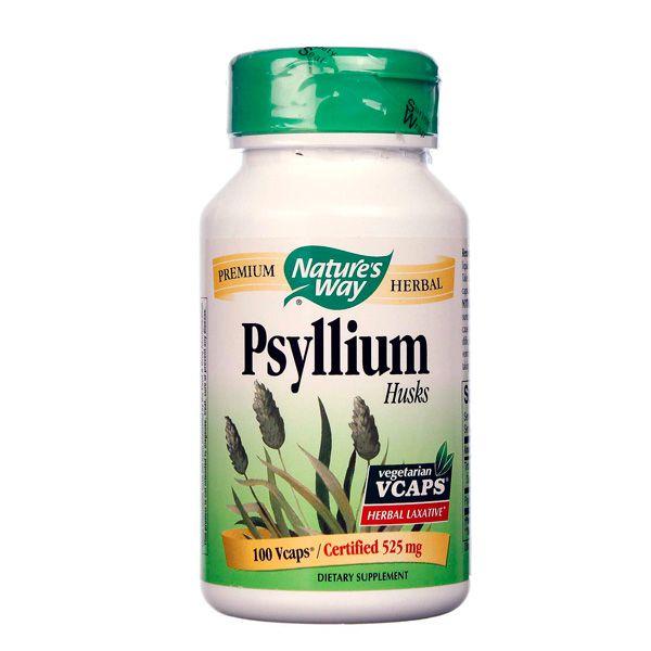 Psyllium ( casca ) - 525 mg - 100 cápsulas ( vegano )