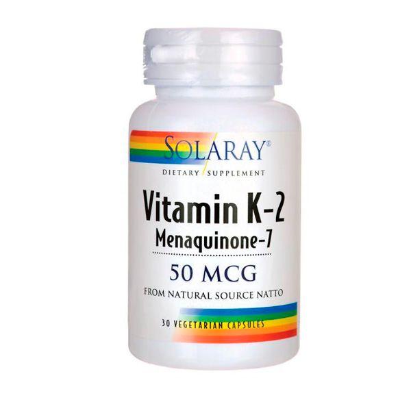 Vitamina K2  50mcg - Menaquinone -7