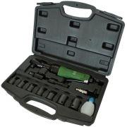 Chave Catraca Pneumática Potente PNW120208 + 07 soquetes e kit de acessórios