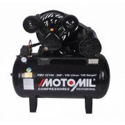Compressor Ar Motomil Profissional CMV 10/100 2Hp Monofásico