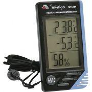 Relógio Termo-Higrômetro Digital Minipa MT-241