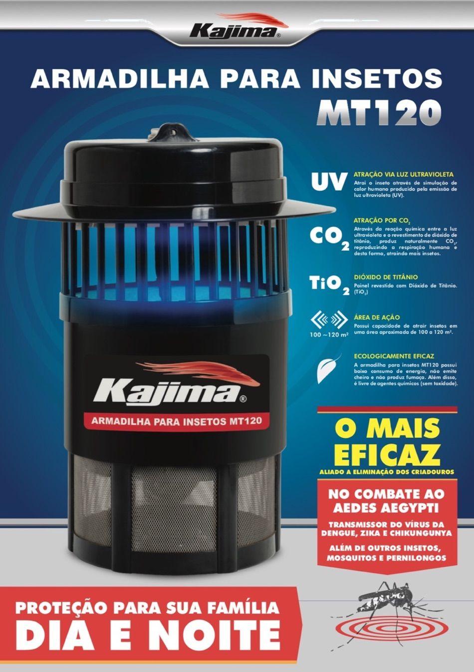 Armadilha Insetos Kajima MT120