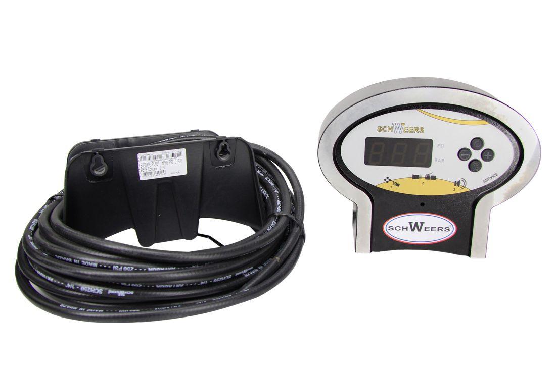 Calibrador Pneus Digital Schweers SCH-145 Service Bivolt / Estrutura em Alumínio