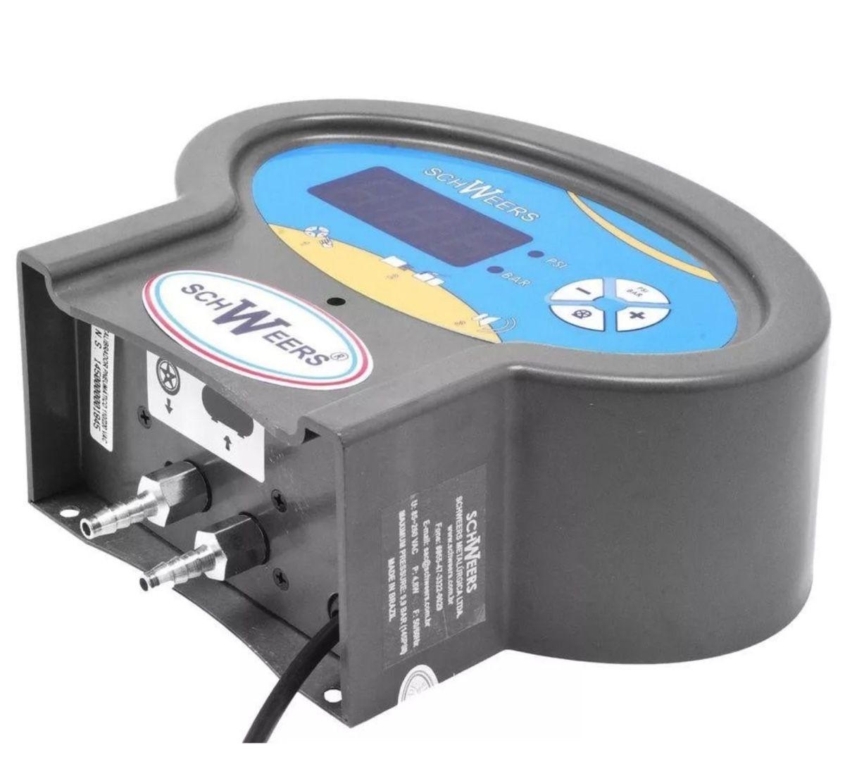 Calibrador Pneus Digital Schweers SCH-145 Box Bivolt