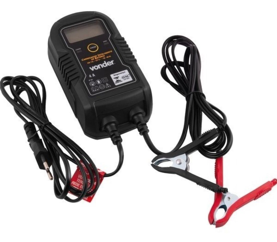 Carregador Bateria Inteligente Vonder CIB 210