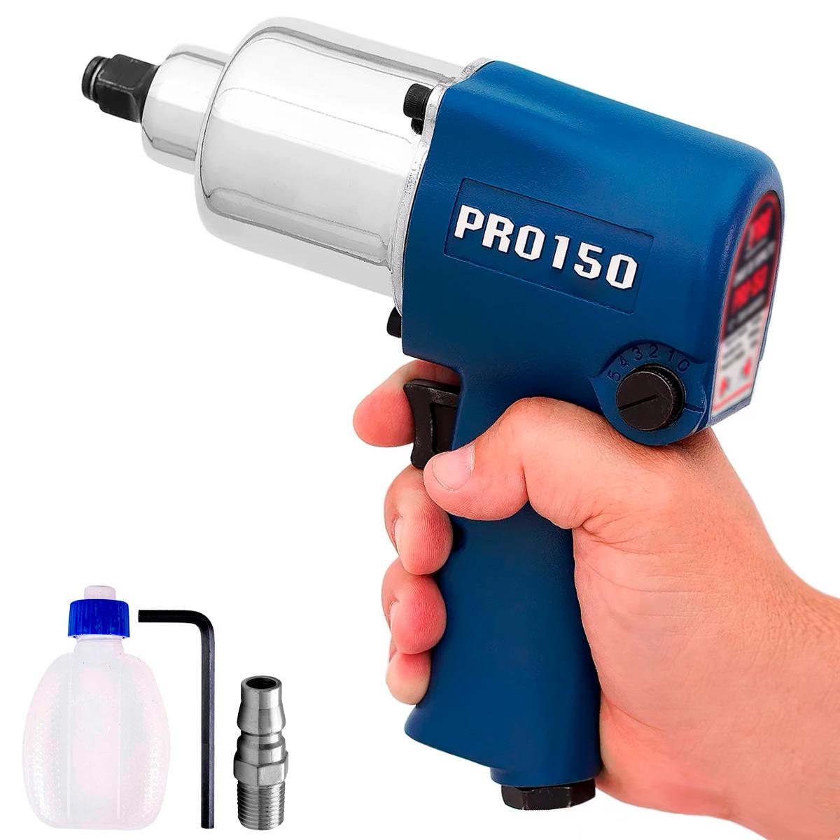Chave de Impacto Pneumatica PDR PRO-150 68 Kgfm Encaixe 1/2
