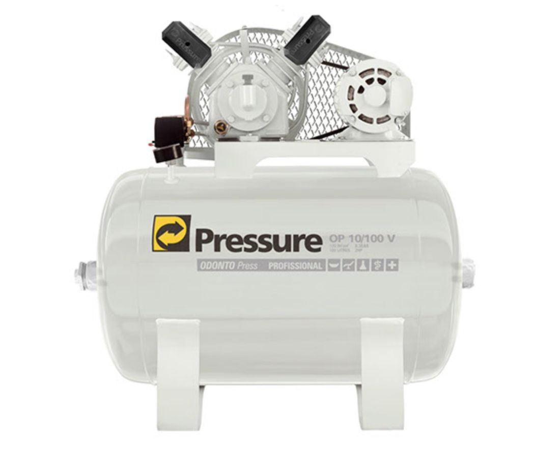 Compressor Ar Pressure Odonto OP 10/100 V-2HP