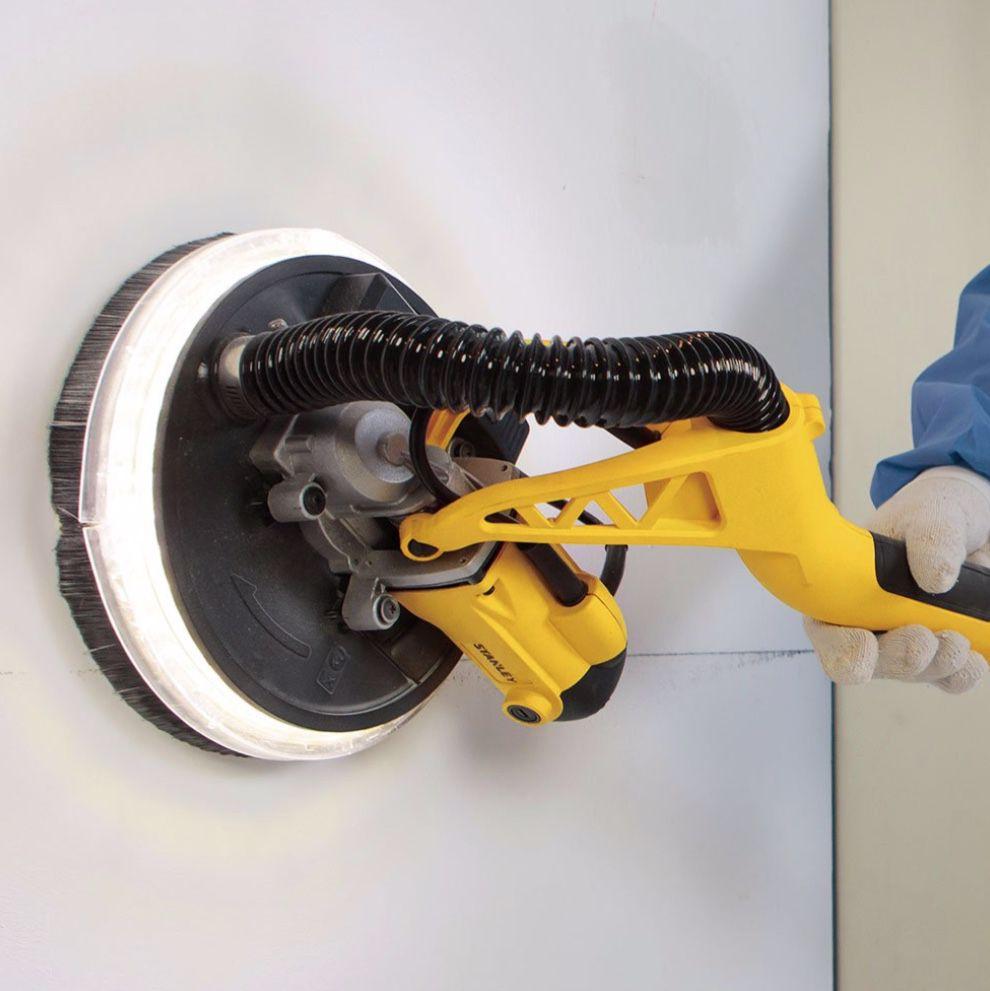 Lixadeira de Parede Orbital Stanley LED SW75