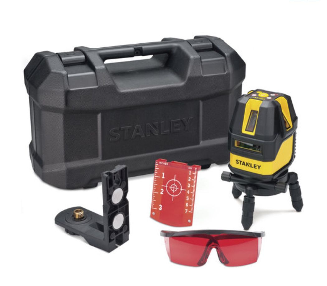 Nível Laser Stanley Multi Linhas 4V1H STHT77512-LA com kit