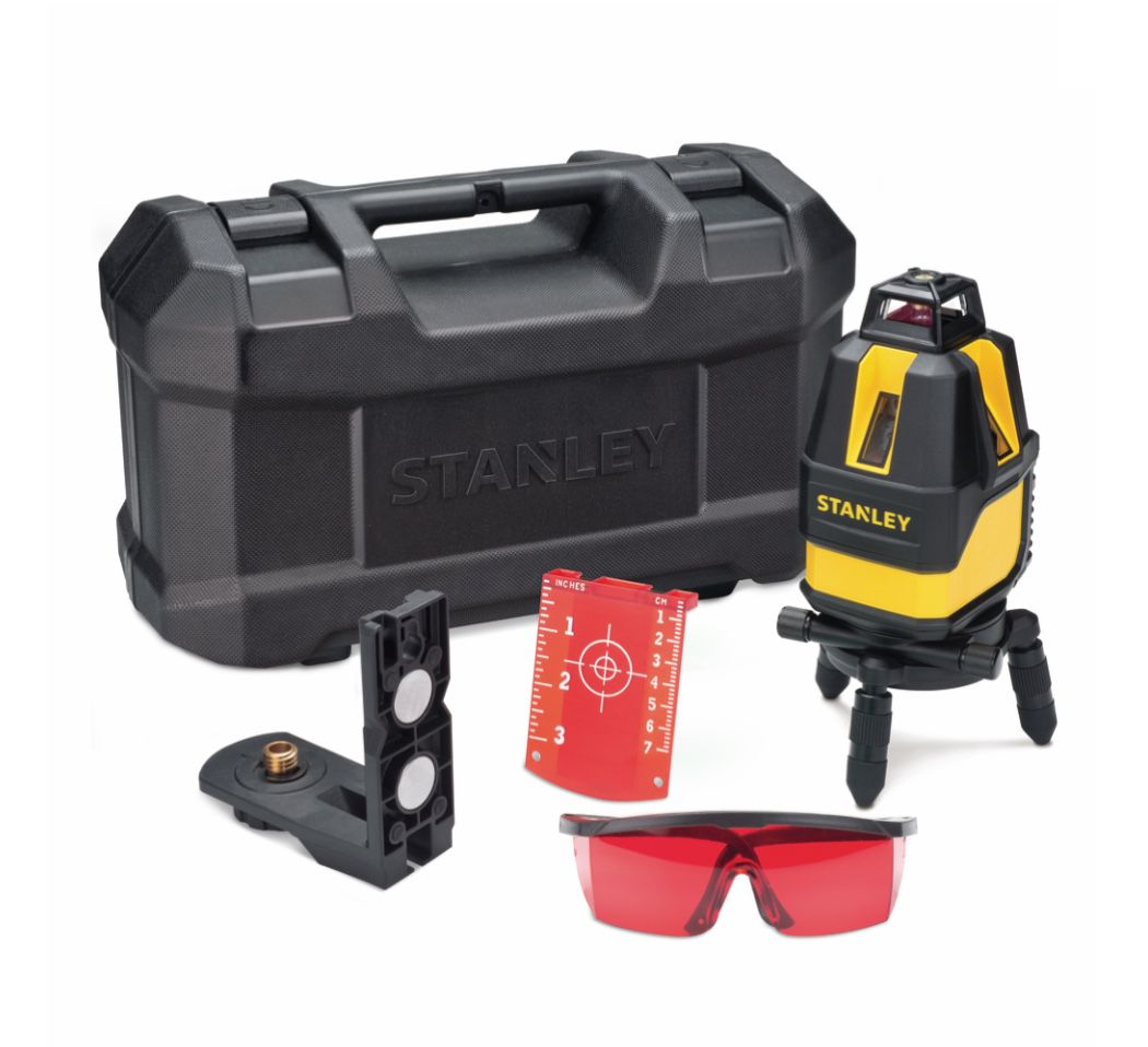 Nível Laser Stanley Multi Linhas 4V360H STHT77521-LA com kit