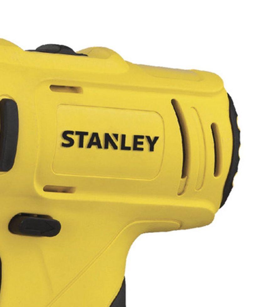 """Parafusadeira / Furadeira Stanley 3/8"""" 12v SCD121S2K-BR + 02 baterias + Carregador Bivolt e Maleta"""