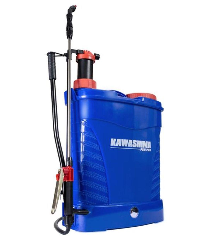 Pulverizador Costal a Bateria e Manual Kawashima PEM P20 20 litros