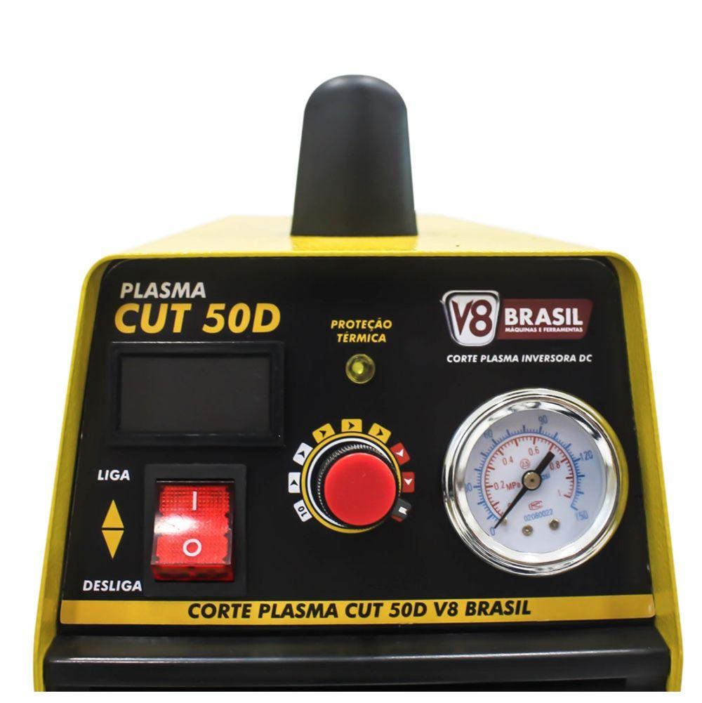 Corte Plasma V8 Brasil CUT50D