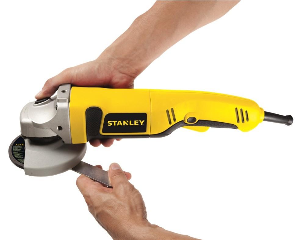 """Esmerilhadeira Stanley 4.1/2"""" 1000w STGS1011"""