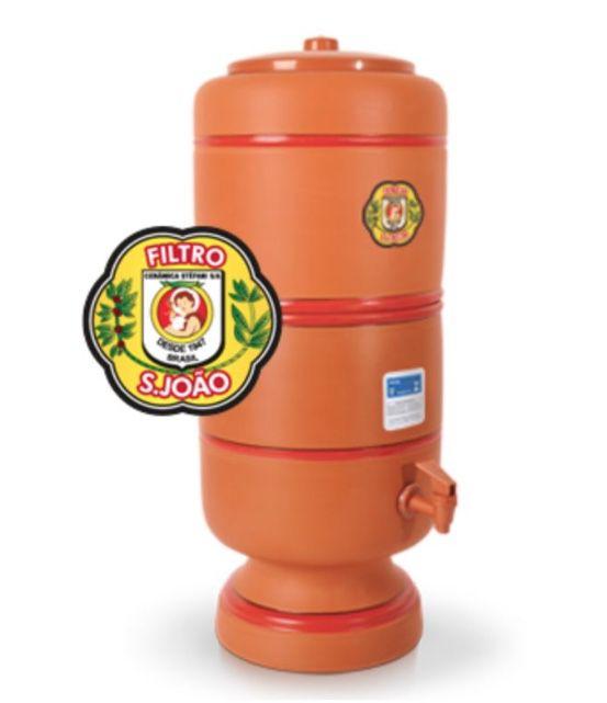 Filtro Barro Purificador Água São João 4L