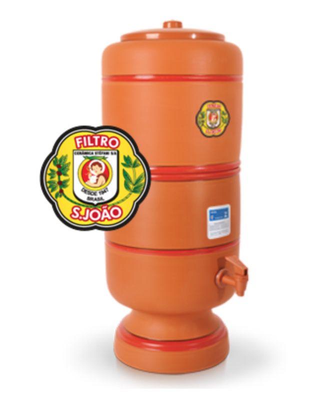 Filtro Barro Purificador Água São João 6L