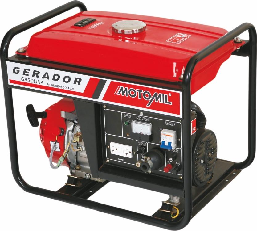Gerador Energia Motomil MG3000CL 3KVA Monofásico / Bivolt
