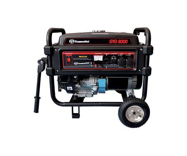 Gerador Energia Tramontini GTG8000 8KVA | Monofásico | Bivolt | Motor 15HP 4T