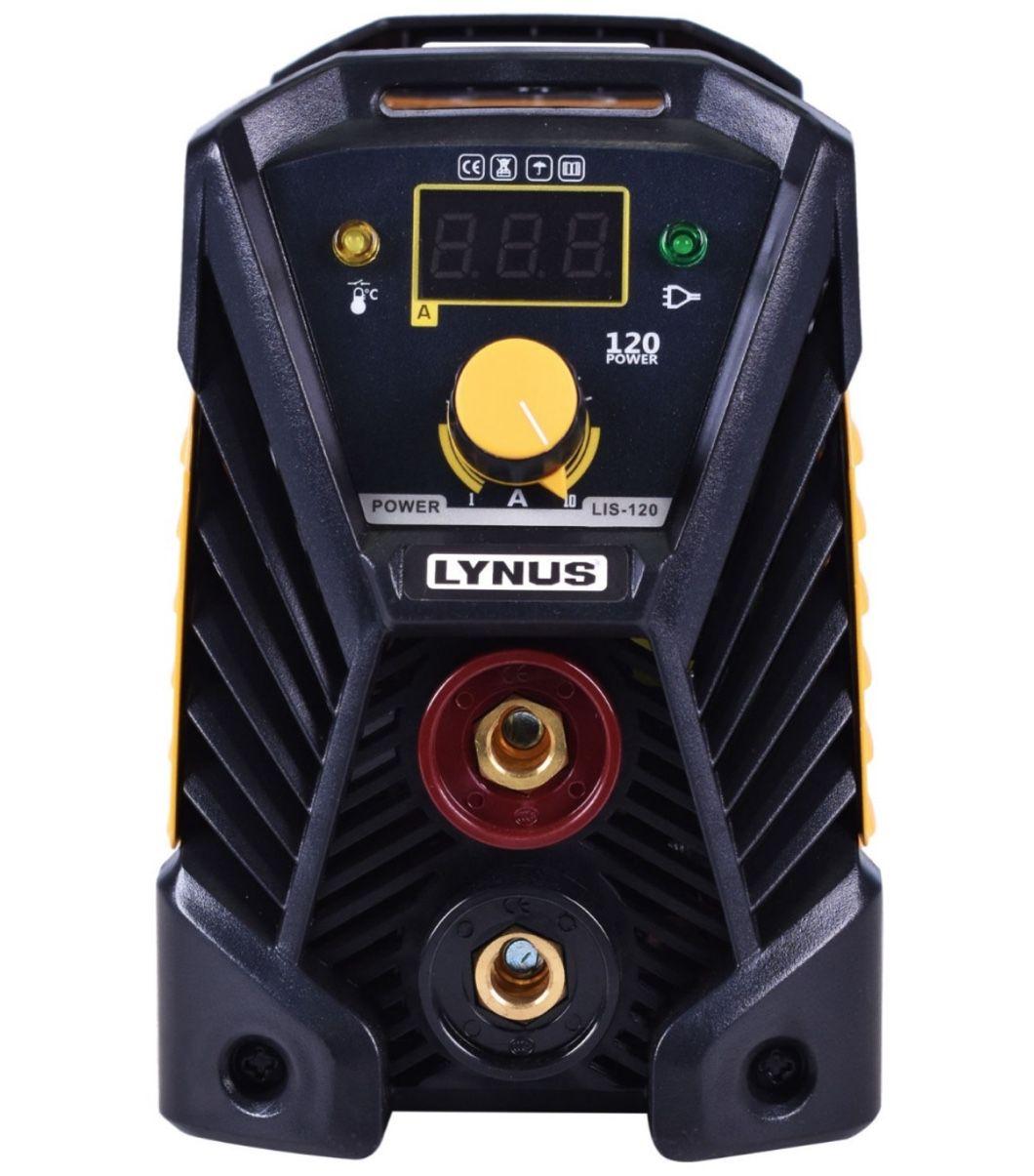 Inversora Solda Lynus LIS-120 Power 220v