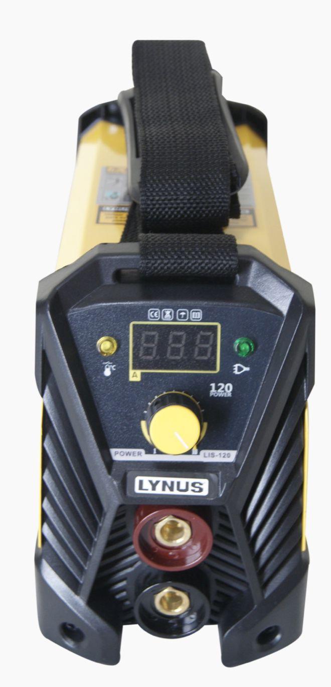 Inversora Solda Lynus LIS-120 Power 220v + Mascara Auto Escurecimento MSL-350F