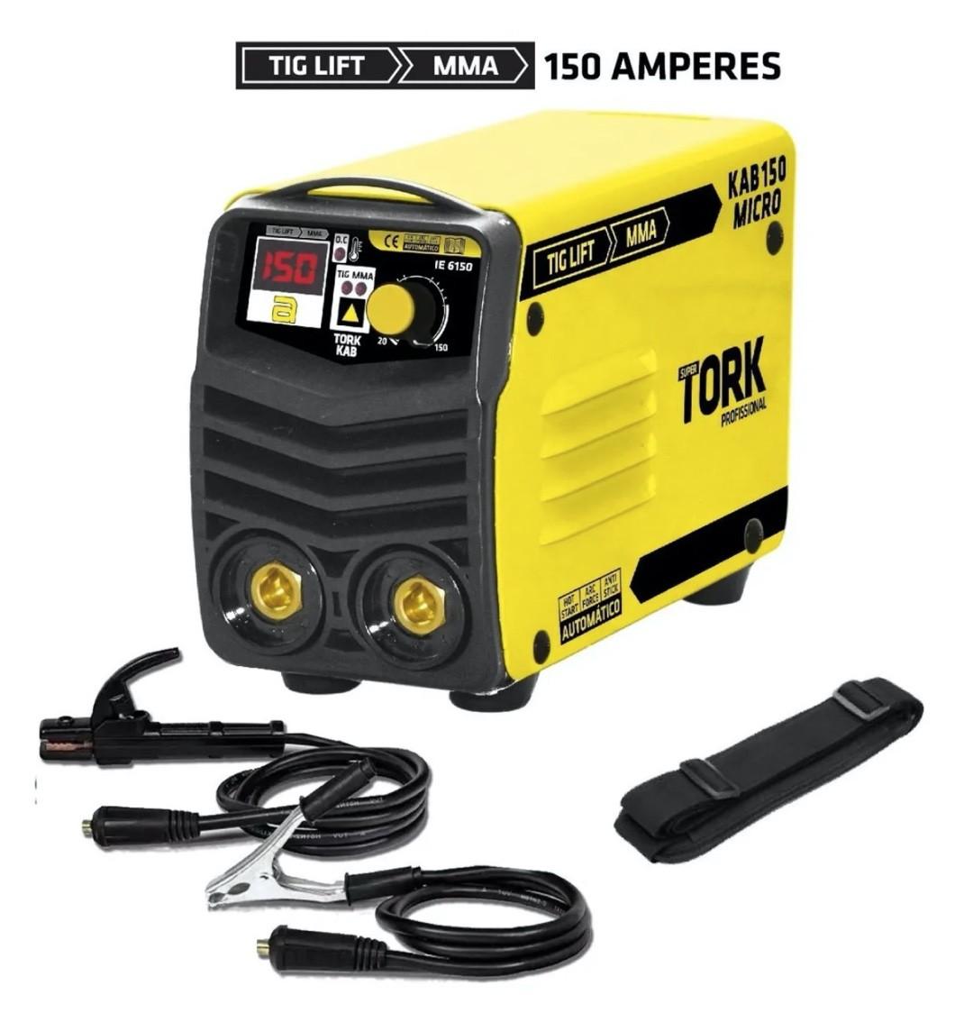 Inversora Solda SuperTork KAB150 Micro 150A IE-6150 220v