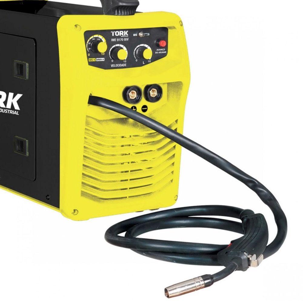 Inversora Solda SuperTork 170A IME-9170 2x1 (Eletrodo-MIG)