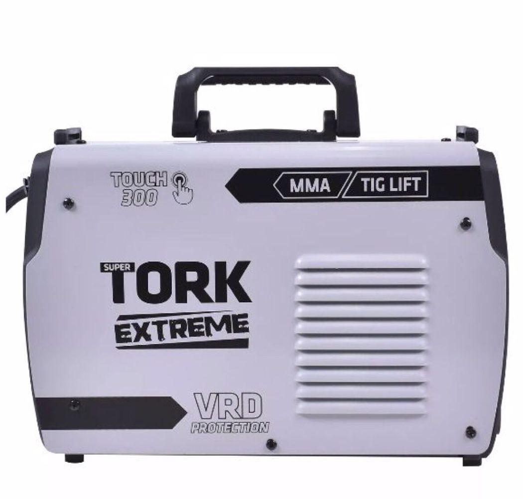 Inversora Solda SuperTork Extreme ITE-12300 Touch 300 VRD 2x1 220v (TIG LIFT-Eletrodo)