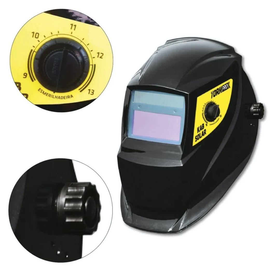 Inversora Solda SuperTork KAB 180 Micro IE-7180 BIVOLT + Máscara Auto Escurecimento MSEA 901