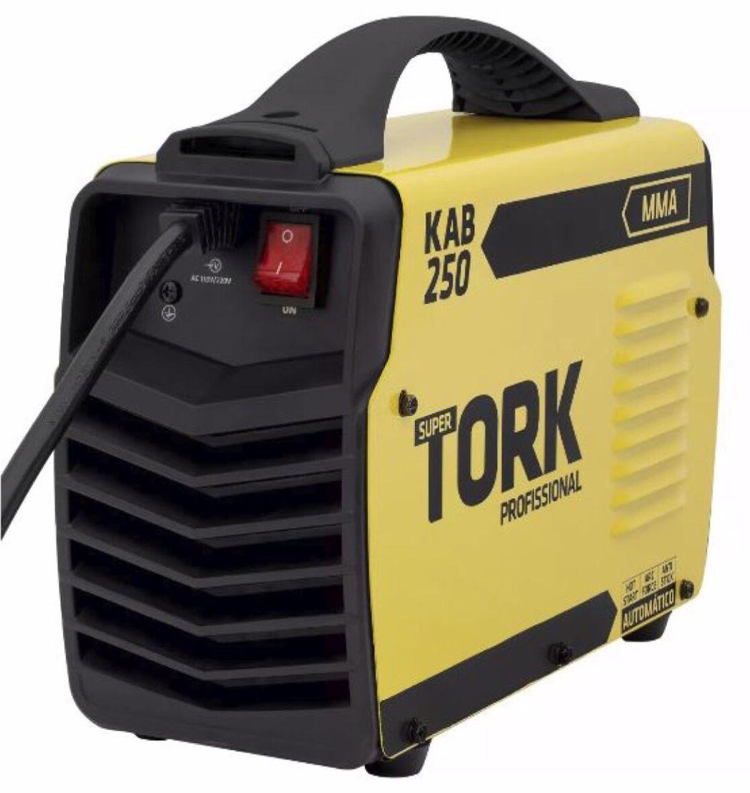 Inversora Solda SuperTork KAB 250A IE-8250BV (bivolt)