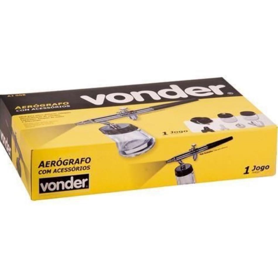 Kit Aerógrafo Vonder AJ008 08pc