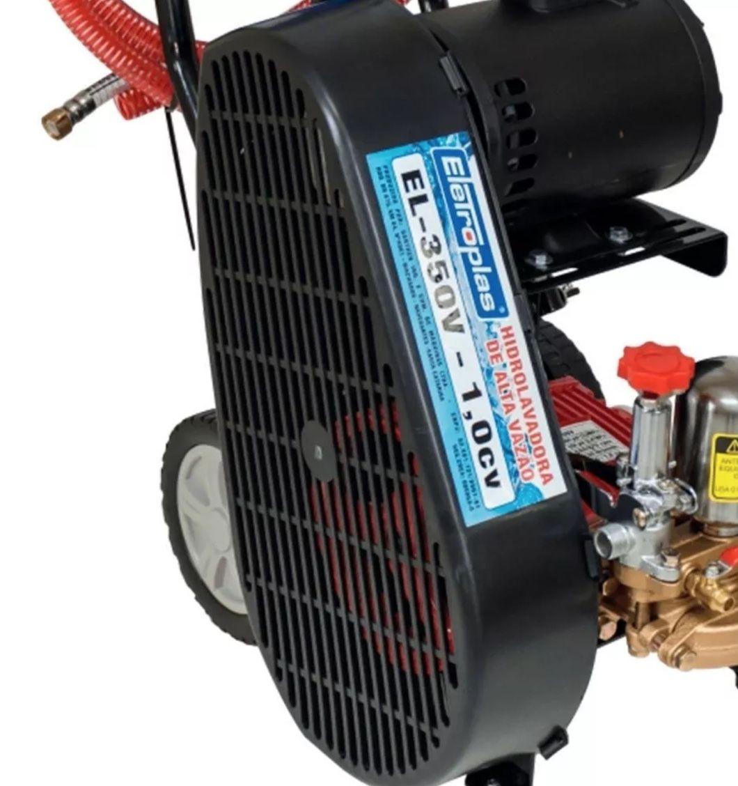 Lavadora Alta Pressão Eletroplas 3 Pistões EL-3500V 1HP Monofásica