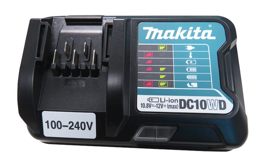 Martelete Rotativo Makita a Bateria HR166DWYJ com maleta