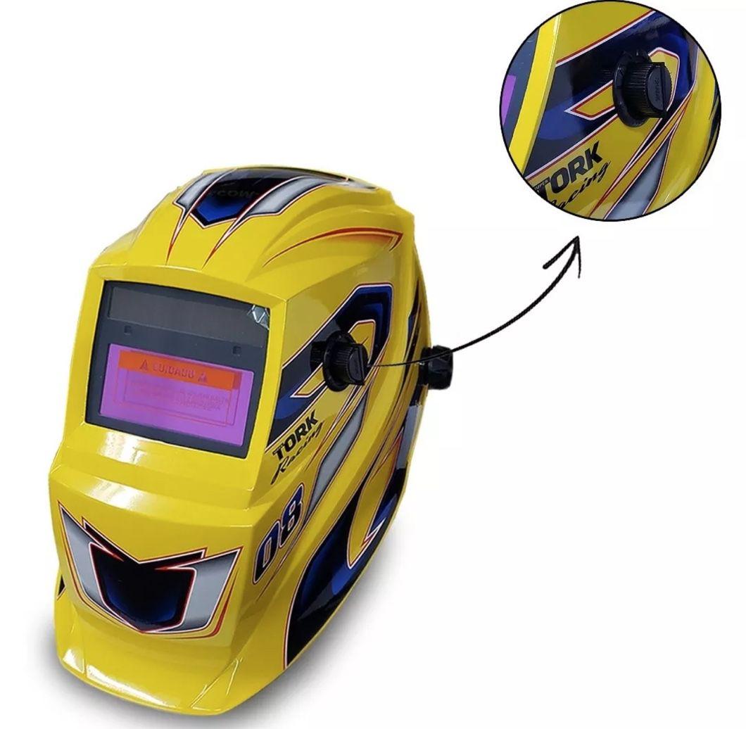 Máscara Auto Escurecimento SuperTork MTR 9008 Tork Racing 08