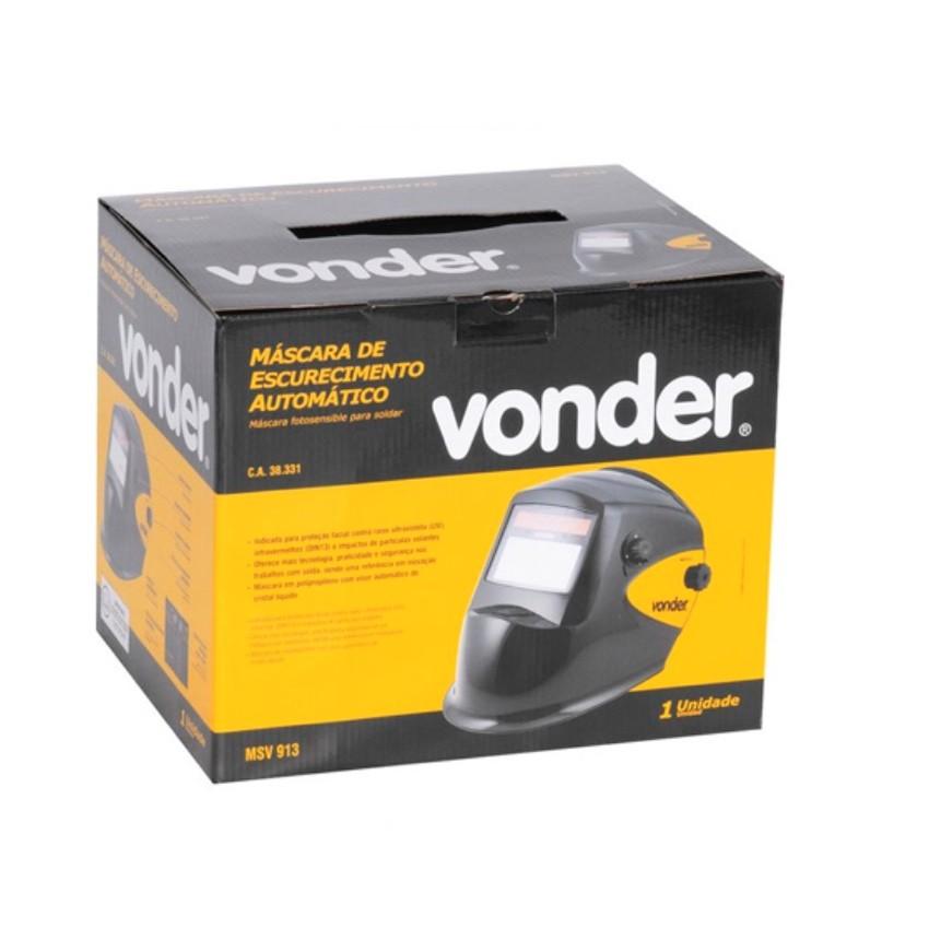 Máscara Auto Escurecimento Vonder MSV913