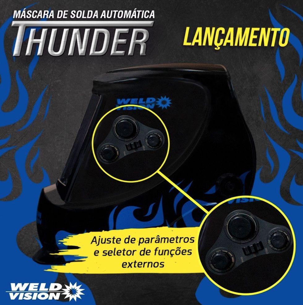 Máscara Auto Escurecimento WeldVision Thunder
