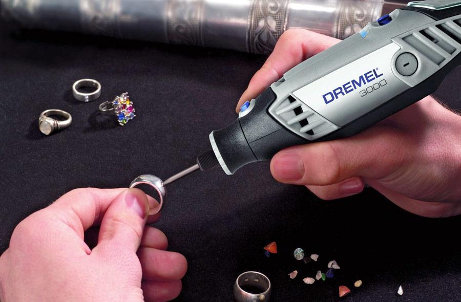 Micro Retífica Dremel 3000 Kit 10 acessórios