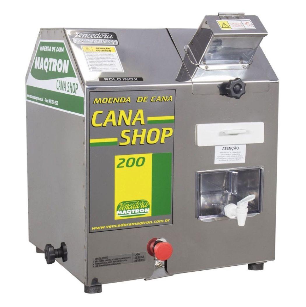 Moenda de Cana Vencedora Maqtron Cana Shop 200 + Motor 2HP