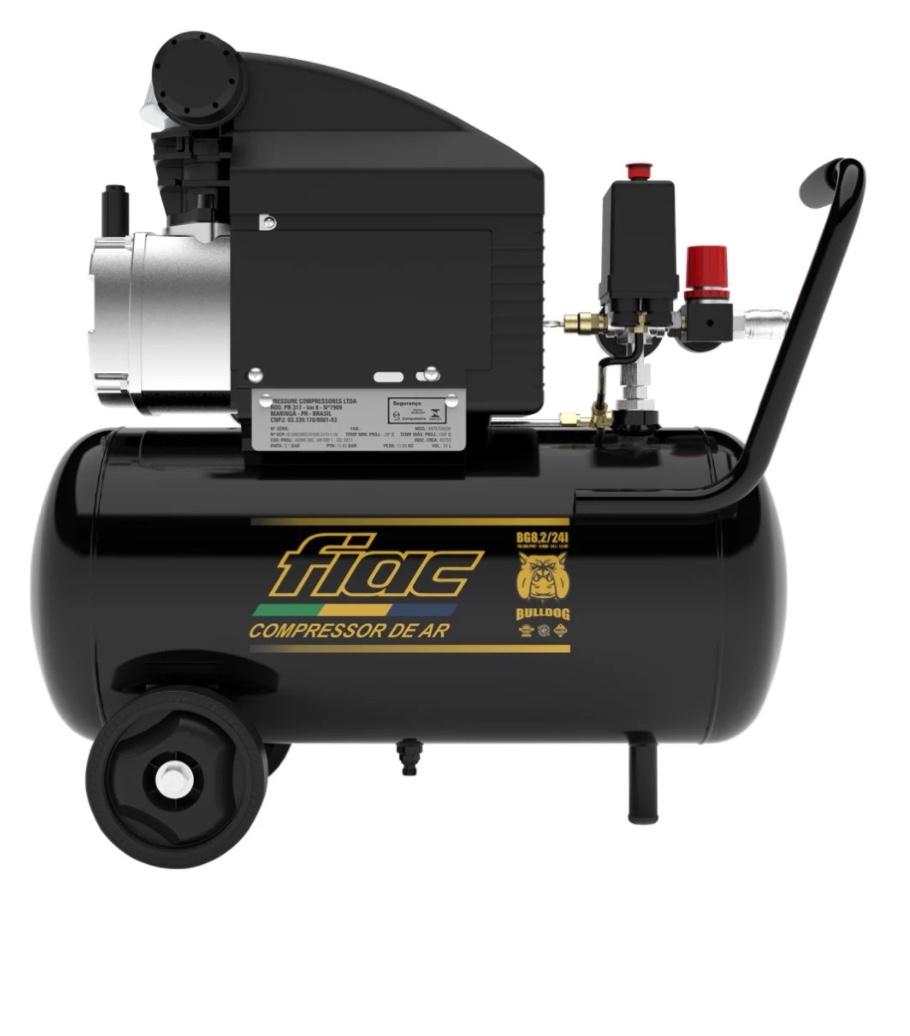 Motocompressor Fiac Bulldog BG 8.2/24LT 1.5HP