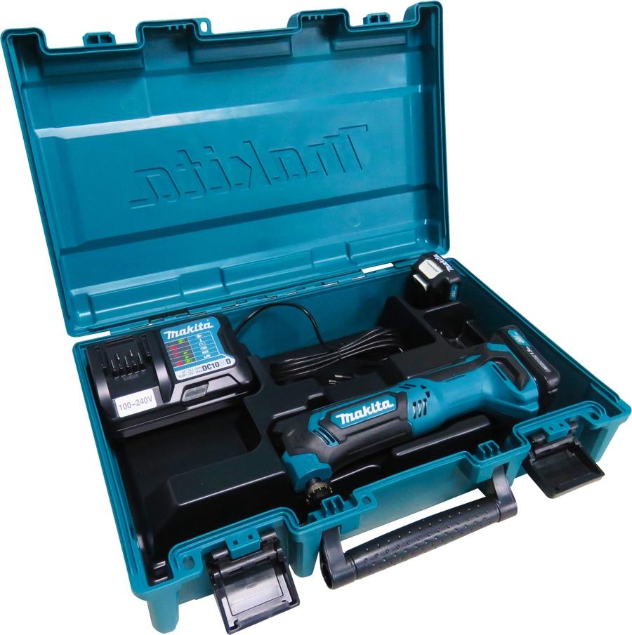 Multiferramenta Makita Bateria 12V TM30DWYE com 02 baterias + maleta + carregador bivolt