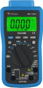 Multímetro Digital Automotivo Minipa MA-120A