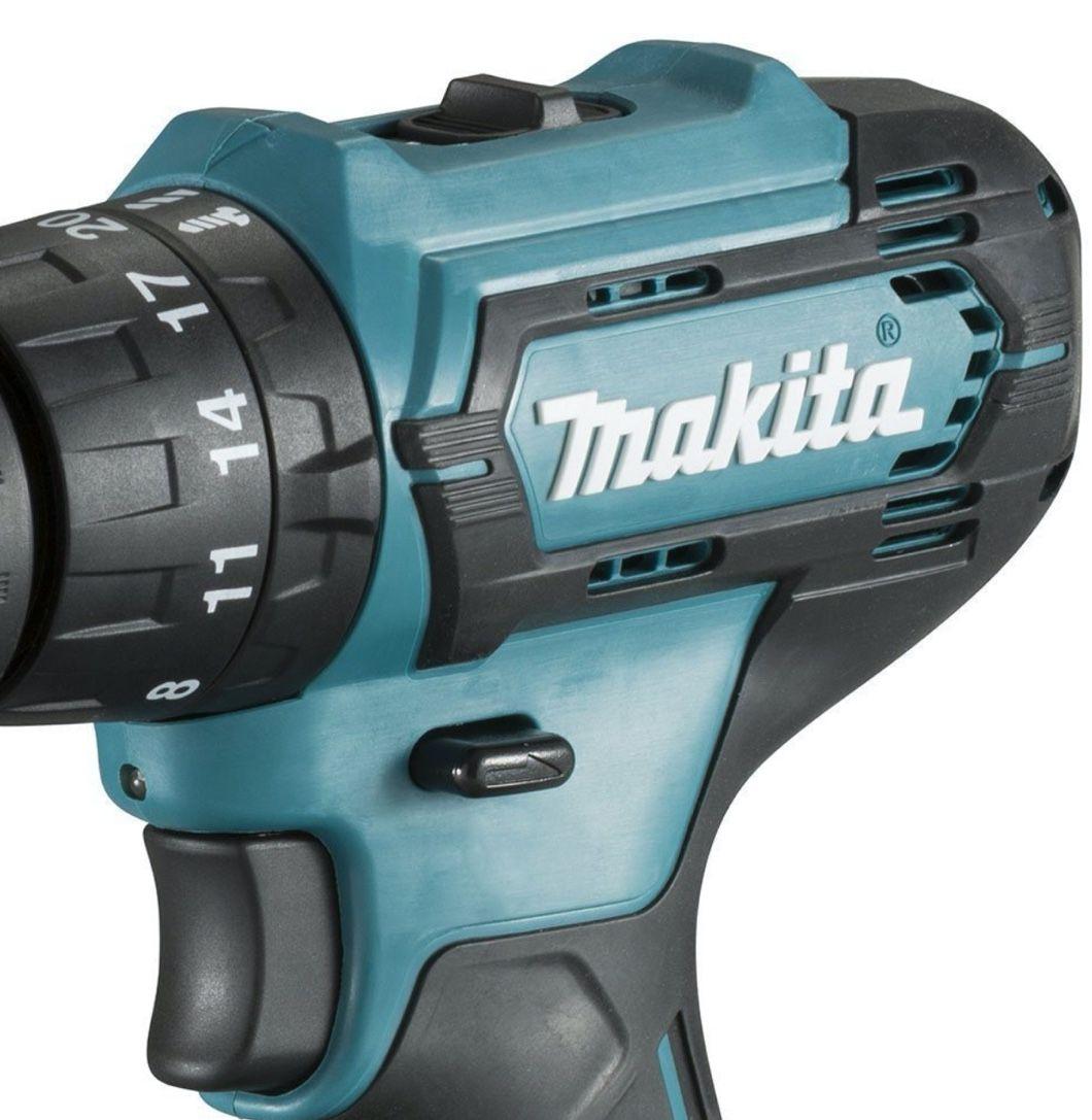 """Parafusadeira / Furadeira Impacto Makita 3/8"""" 12v HP333DWYE com 2 baterias + carregador bivolt"""
