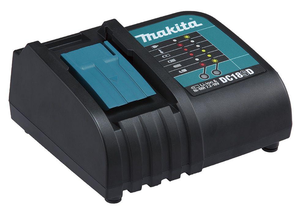 """Parafusadeira / Furadeira Makita 1/2"""" DDF453SYE com 02 Baterias 18V + Carregador Rápido e Maleta"""